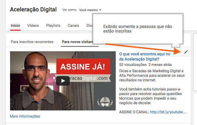 trailer do canal no youtube