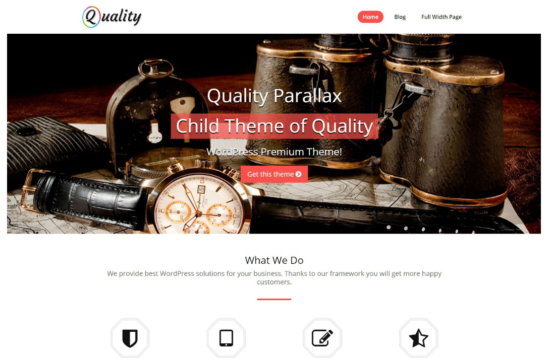 quality-free-wp-theme